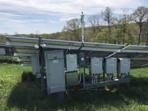 Weather station inverters