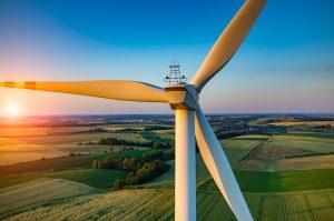renewable energy resource in a field