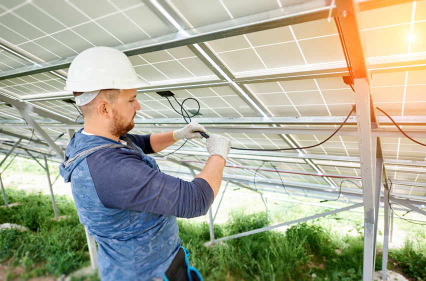 Solar energy jobs in Massachusetts
