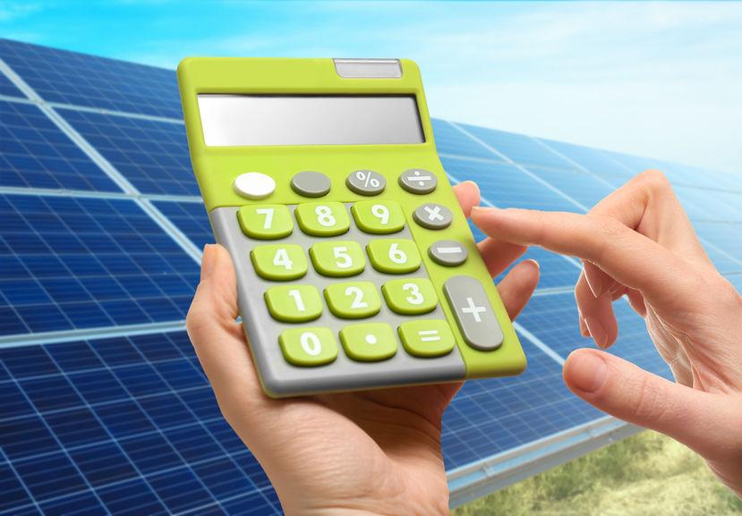 savings with solar energy