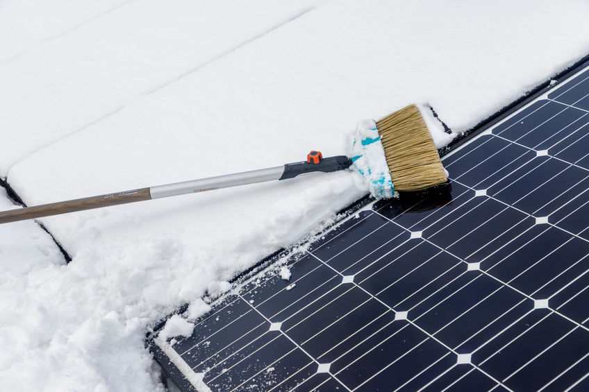 Solar Panels withstanding Snow