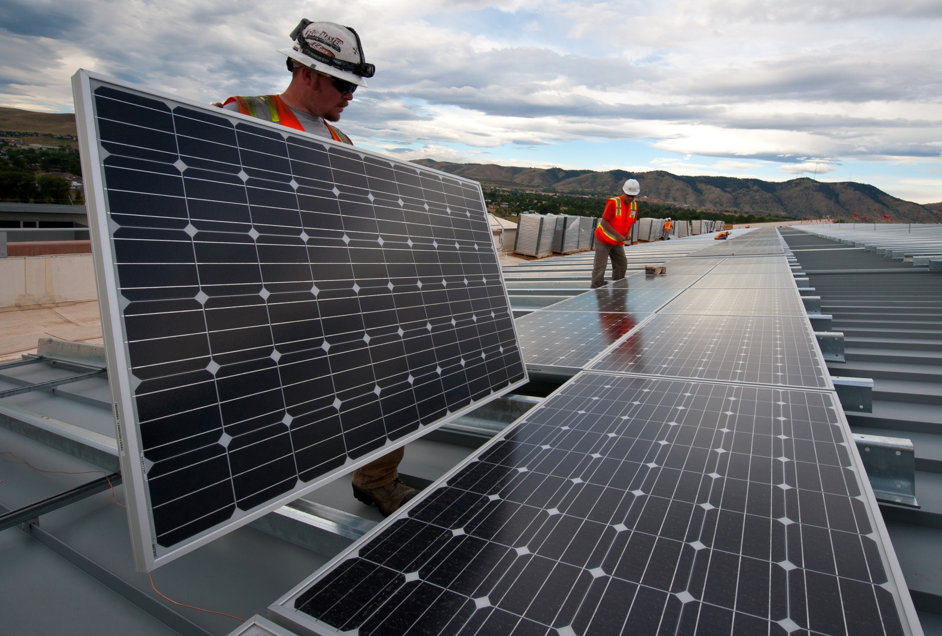 Installation of large scale solar energy projects