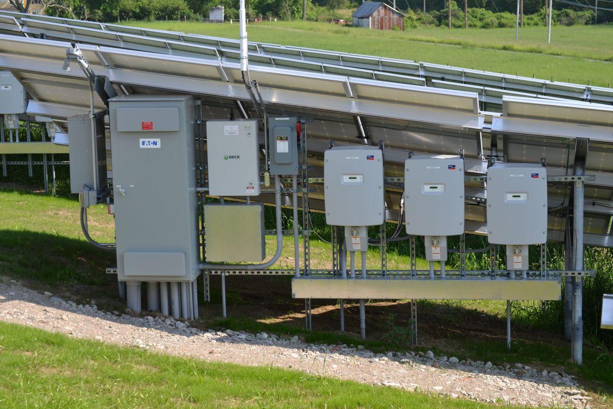 Solar Panel Control Panel
